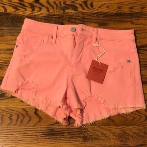Mossimo Hot Pink Cut Off Shorts